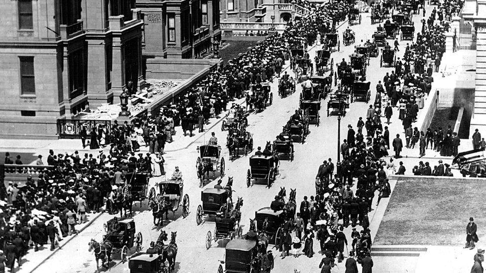 5th Avenue in New York in 1900