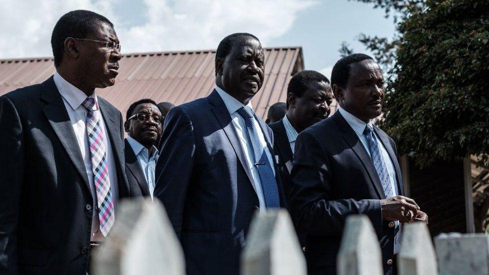 Kenya's Opposition leaders