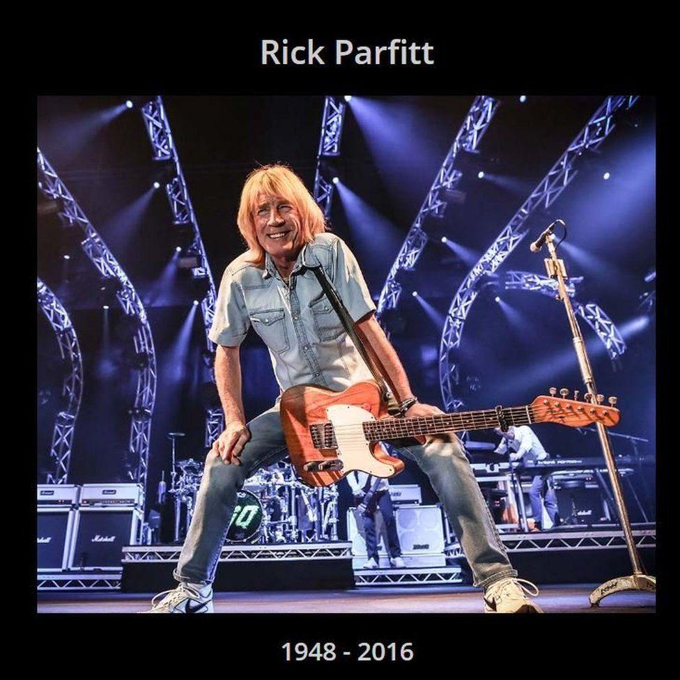 Muere a los 68 años el guitarrista Rick Parfitt de la banda Status Quo