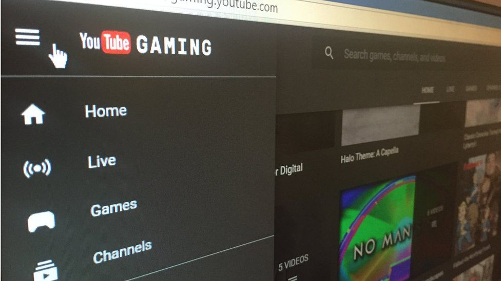 Youtube gaming screenshot