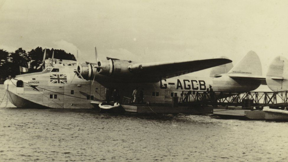 A flying boat