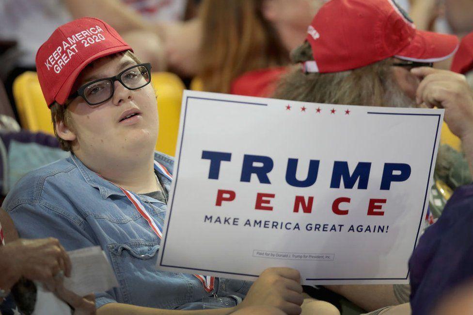 Trump rally in Minnesota