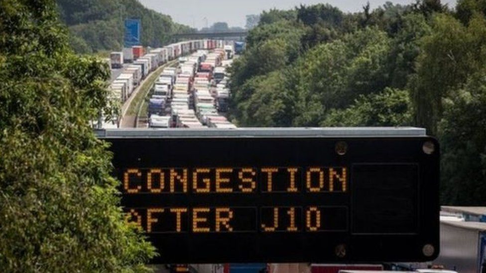 Queues on the M20