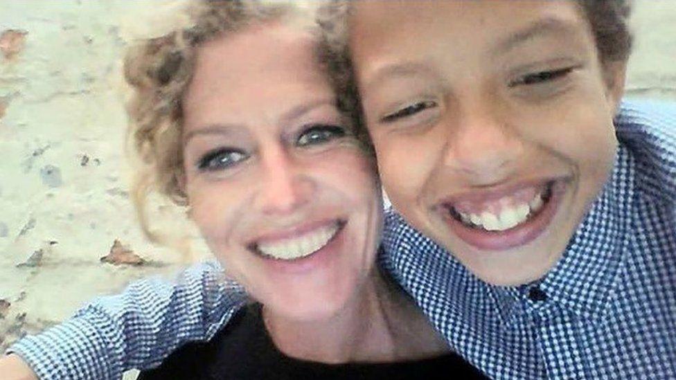 Noah and his mum Fiona