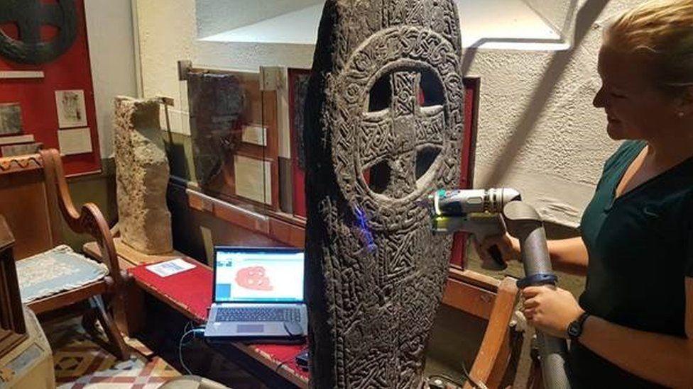 'Unprecedented' project to catalogue Manx medieval crosses