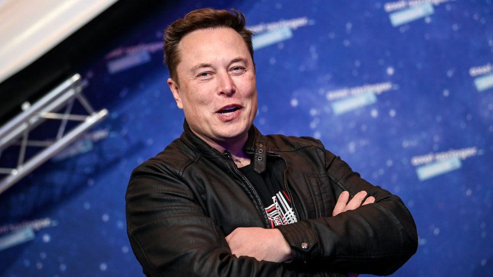Elon Musk UK visit drives Tesla factory rumours - BBC News