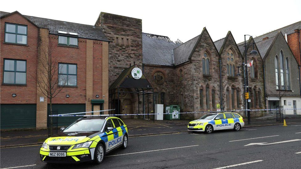 The Belfast Multi-Cultural Association's centre was badly damaged by arson