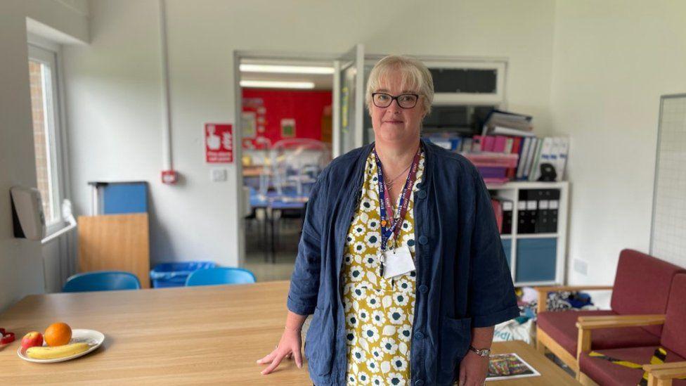 Geraldine Jenkins, Headteacher, Cynwyl Elfed and Llanpumsaint schools federation