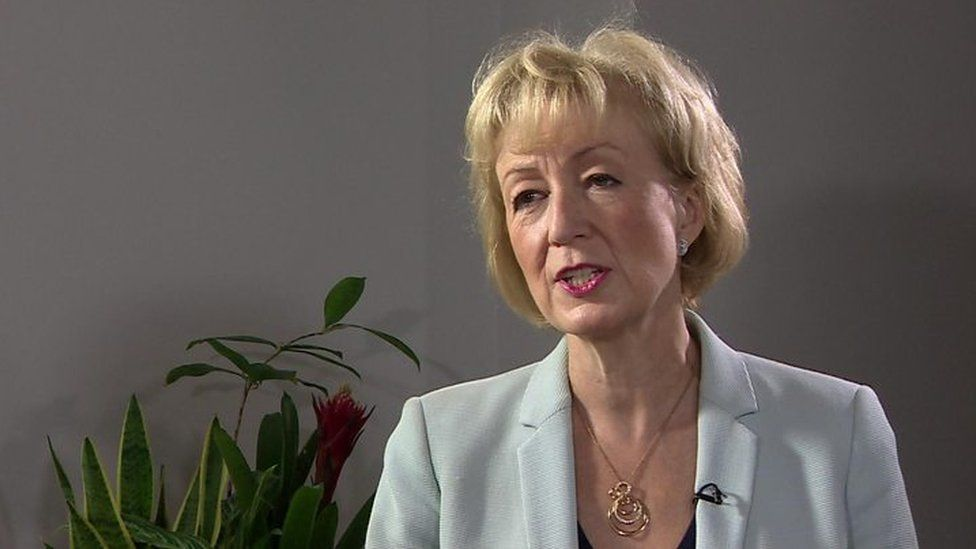 Andrea Leadsom has a three-point plan
