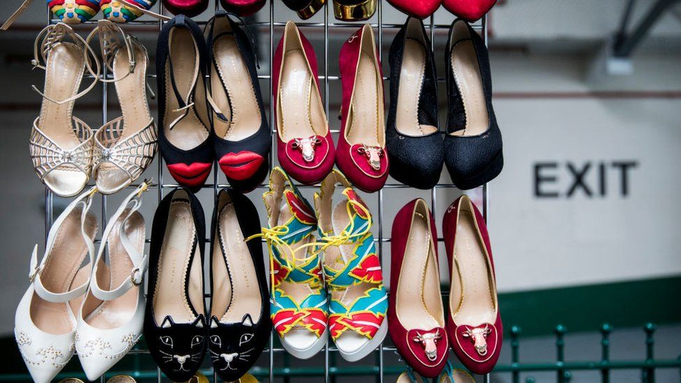 f1f113676e01 Why finding women s large shoe sizes can be a problem - BBC News