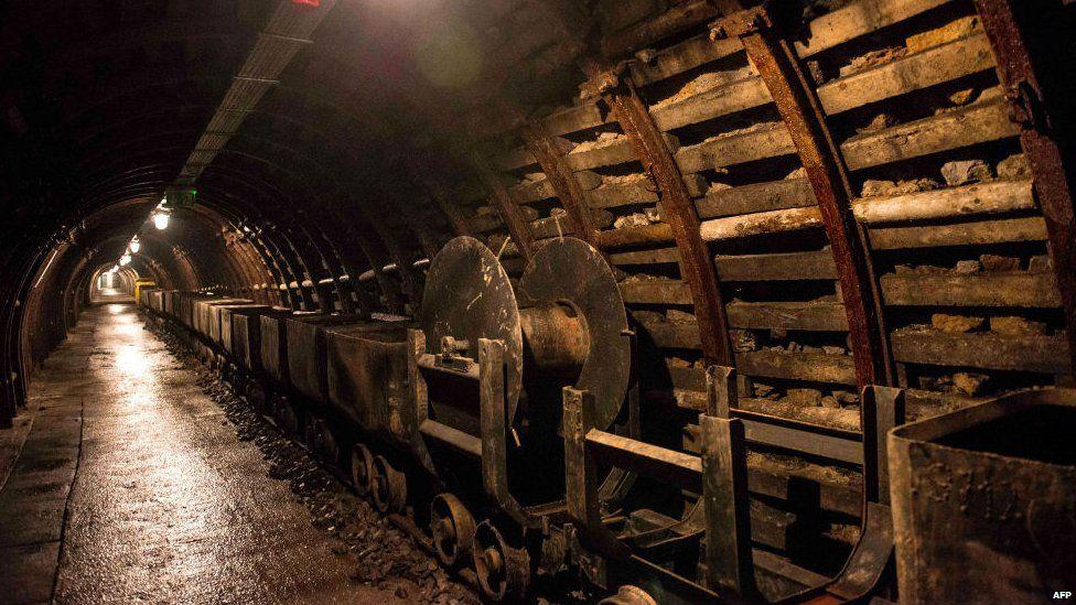 Old mine shafts near Walbrzych