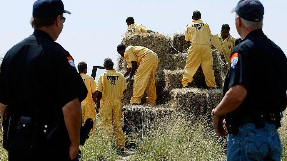 Texas inmates (FILE)