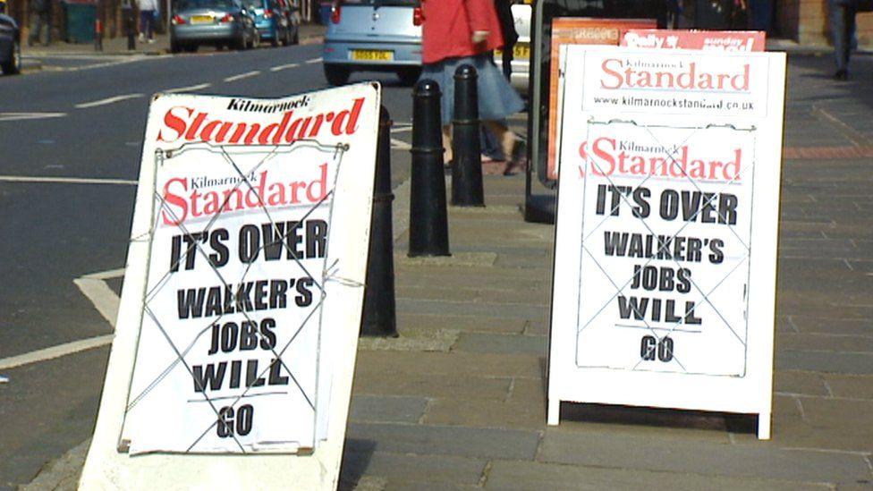 newspaper signs