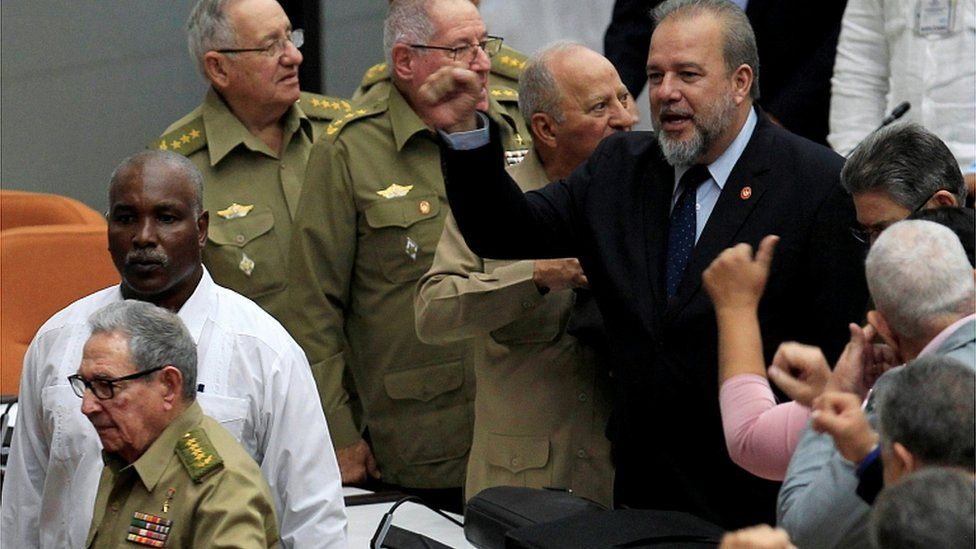 Newly appointed Cuban prime minister Manuel Marrero Cruz at the National Assembly in Havana, on December 21, 2019