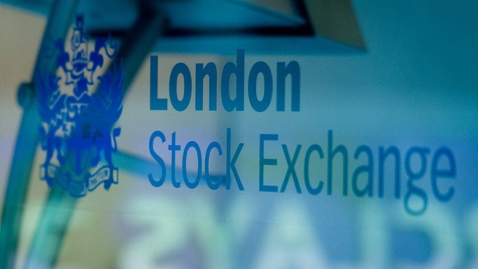 A London Stock Exchange sign