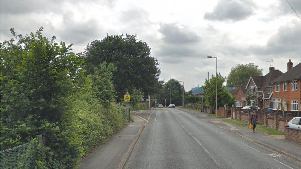 Fernhill Road in Farnborough