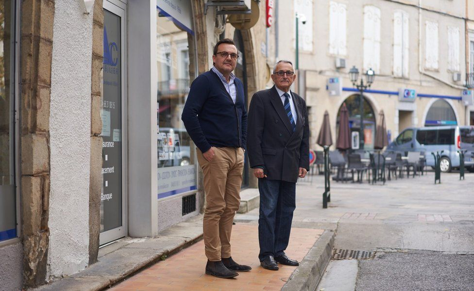 Christophe Bac and his father Charles, owners of Bac Immobilier