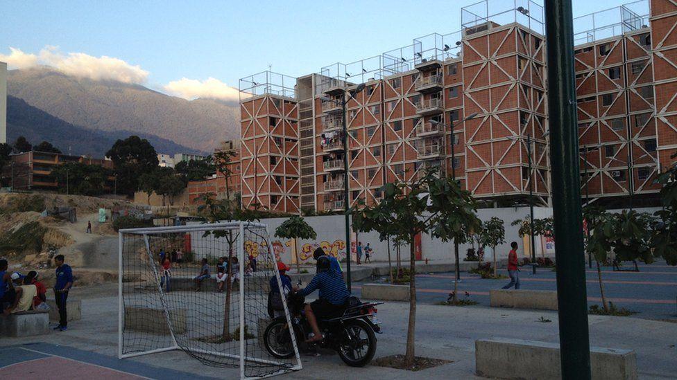 View of the Santa Rosa housing estate