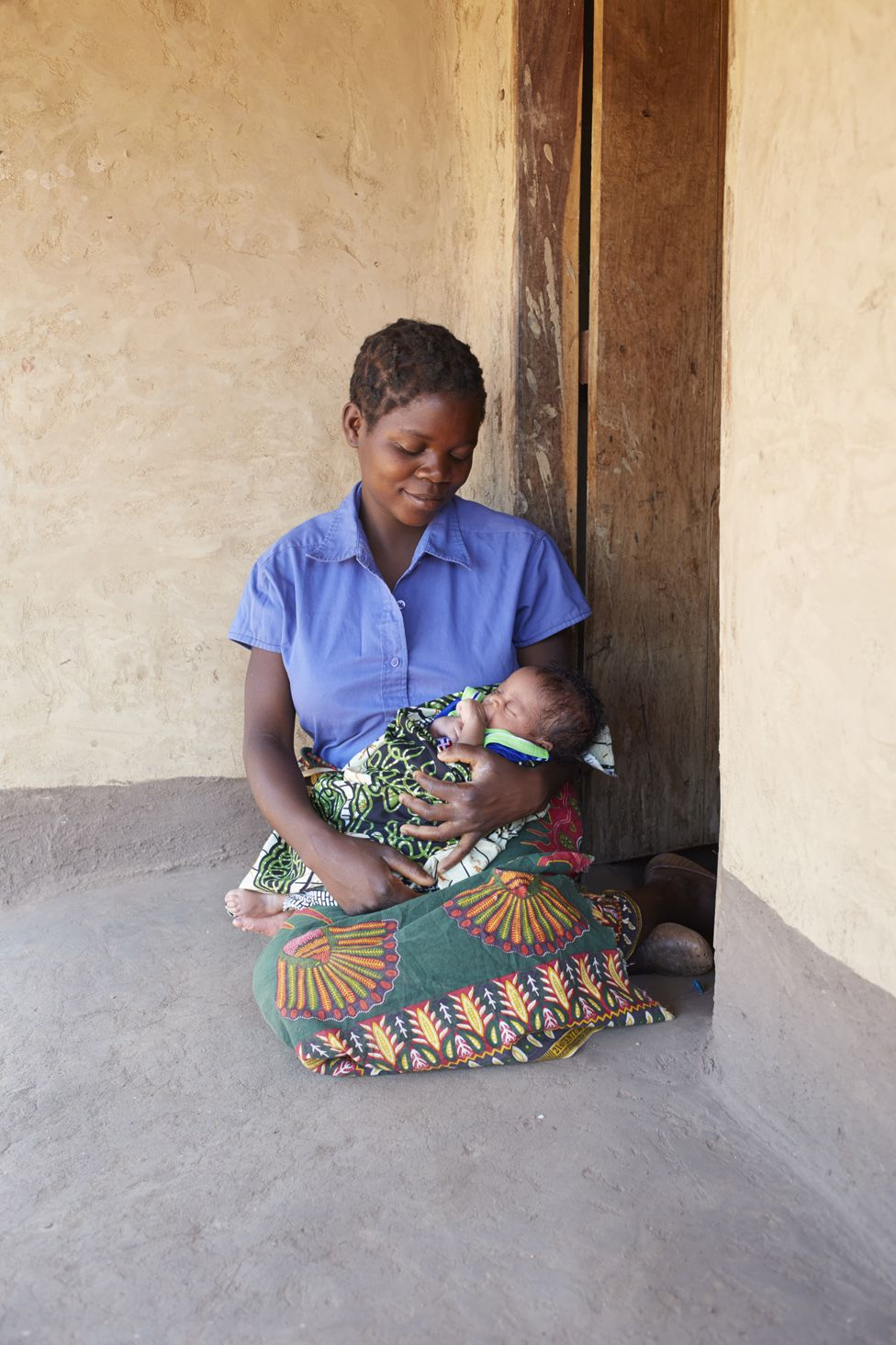 Alinafe Phiri, baby: Boyson Bernard Banda