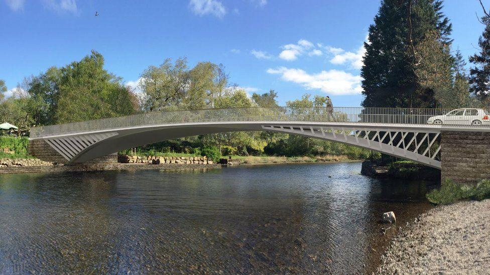 Pooley Bridge design