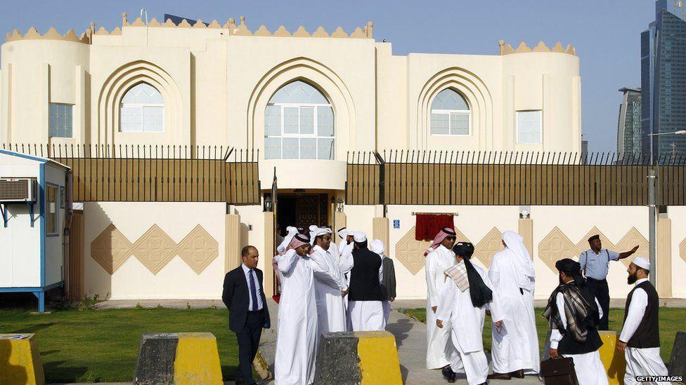 The Taliban's political office in Qatar