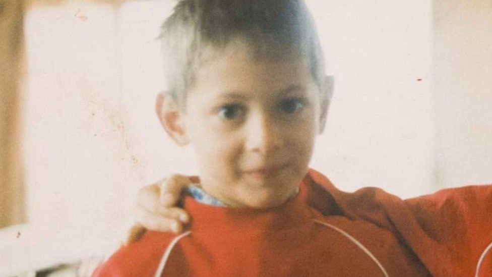 Emiliano Sala as a young boy in Argentina