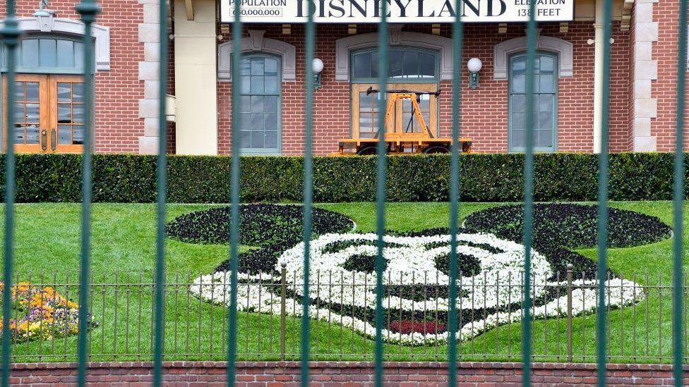 The entire Disneyland Resort in California is shut down due to the coronavirus outbreak.