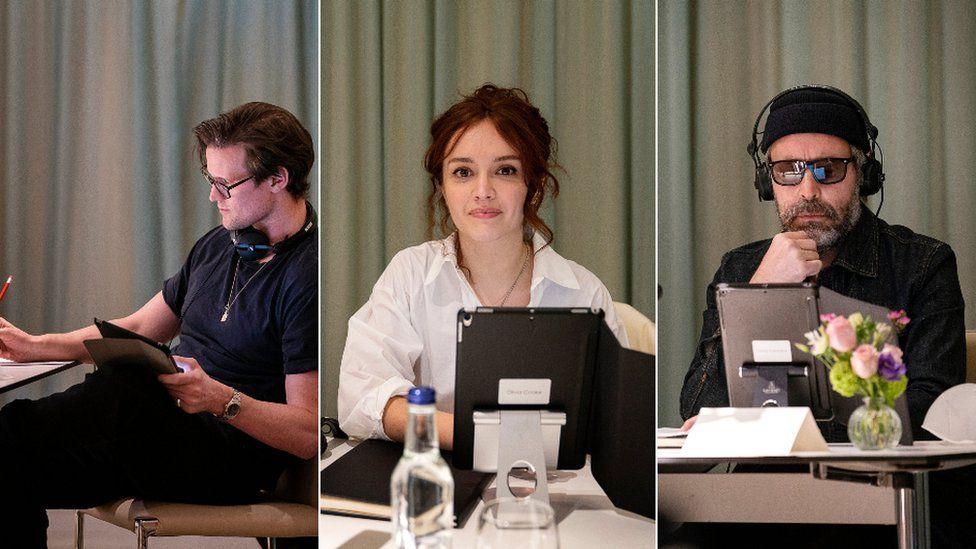 Matt Smith, Olivia Cooke and Paddy Considine