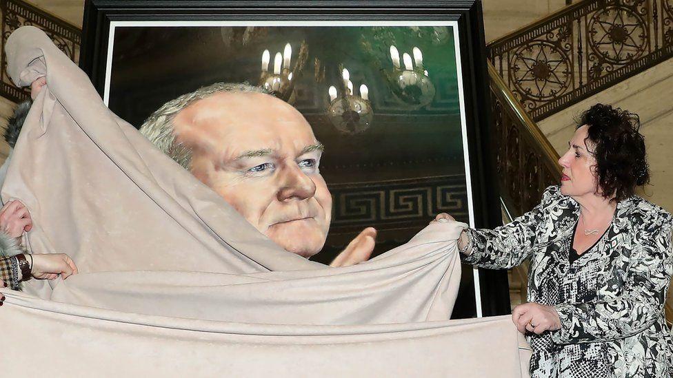 Martin McGuinness portrait