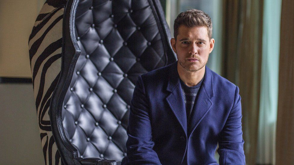 michael buble to make stage return after sons illness bbc news