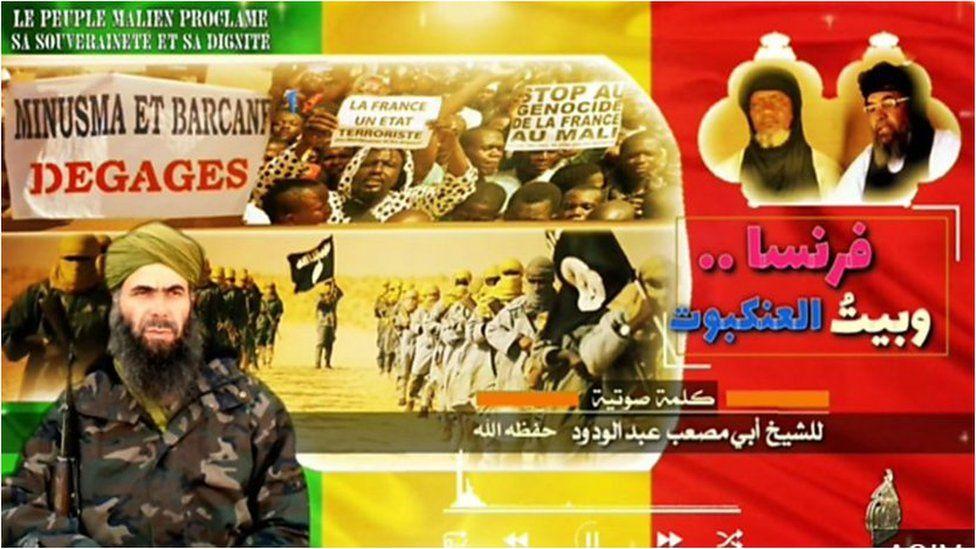 AQIM propaganda poster