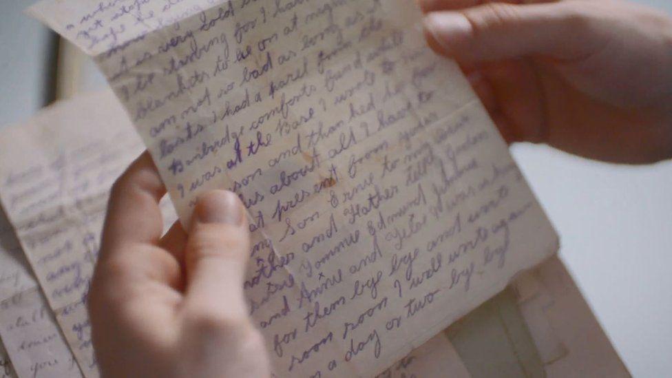 Letter written by Ernest McDowell