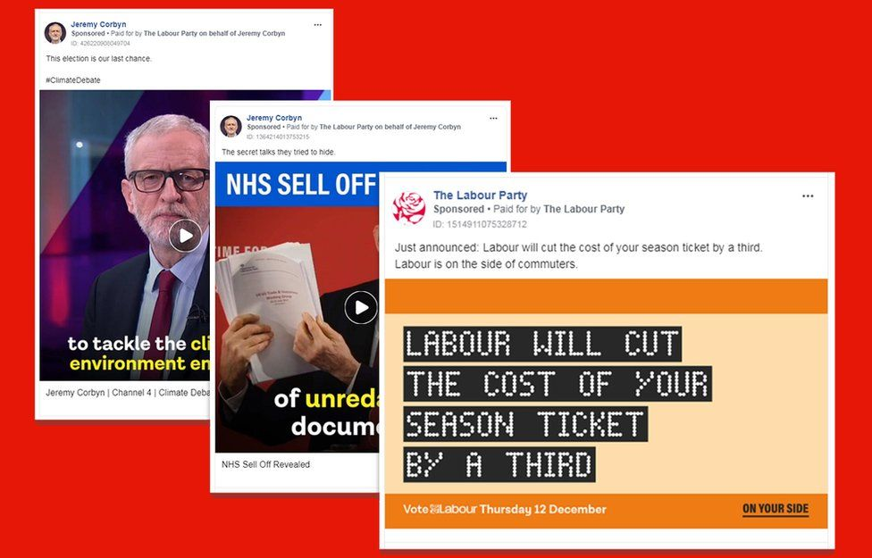 Labour Party Facebook ads