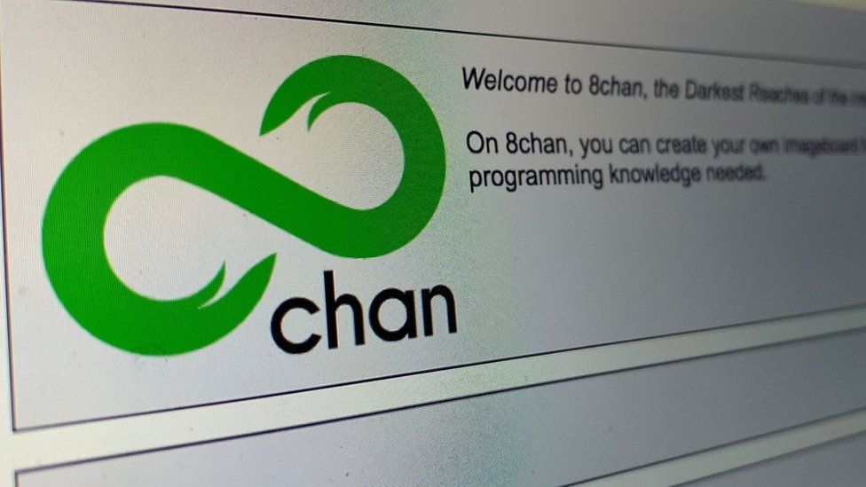8chan far-right forum offline as Cloudflare cuts support - BBC News