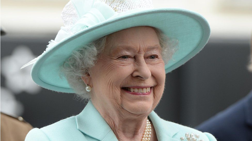 The Queen pictured during her visit to Coleraine, County Londonderry, in June 2014