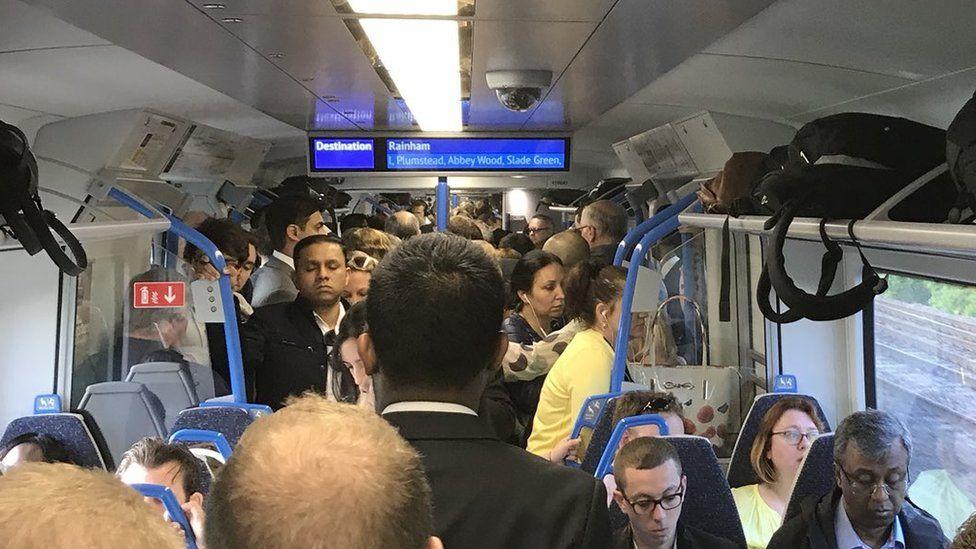 Harpenden commuter train