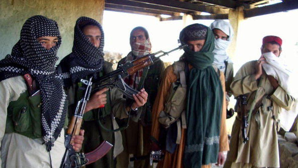 Pakistani Taliban members