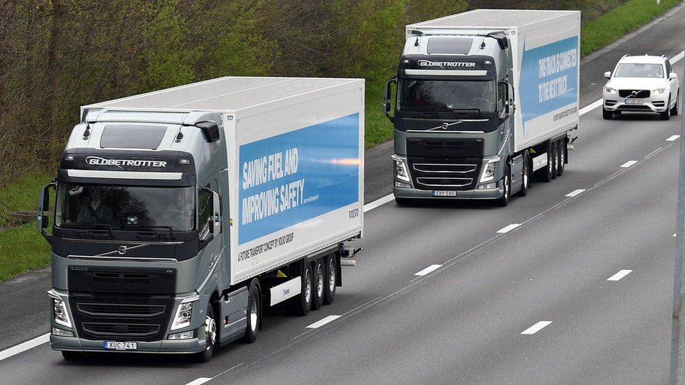 """بريطانيا تختبر شاحنات """"ذاتية القيادة"""" على طرقها"""