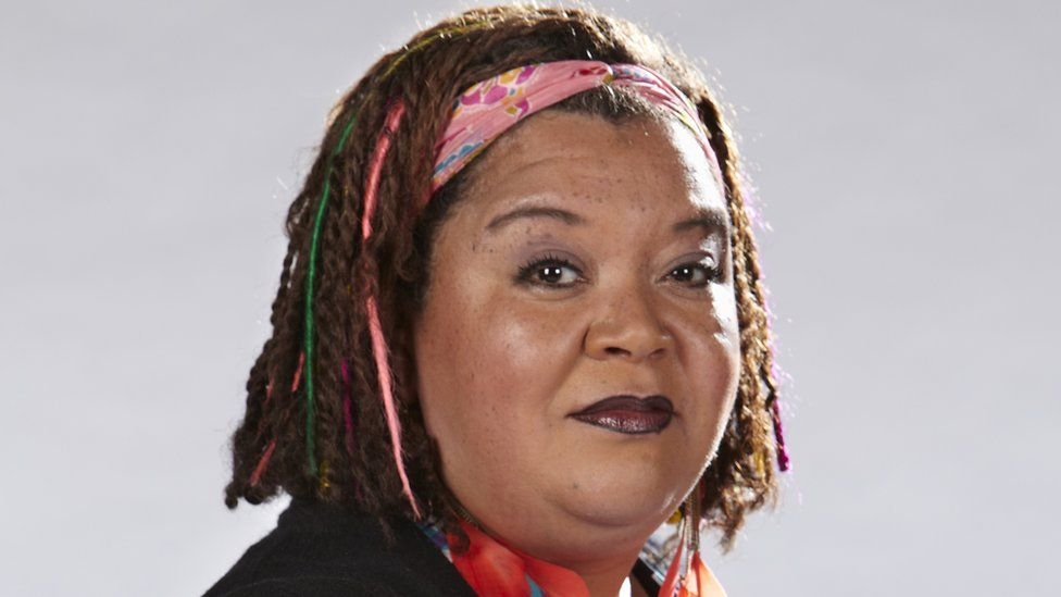 Kay Purcell in The Dumping Ground