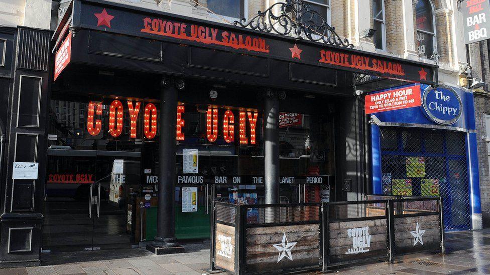 Coyote Ugly nightclub