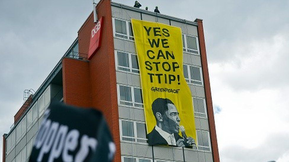 Protests against TTIP in Germany