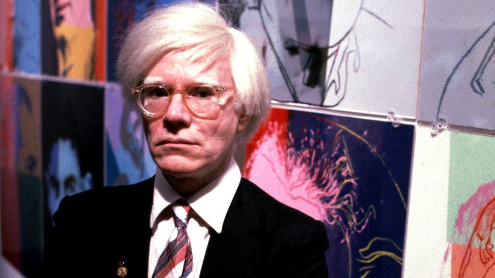 Andy Warhol in 1980