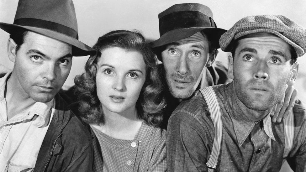 Promotional image for John Ford's The Grapes of Wrath
