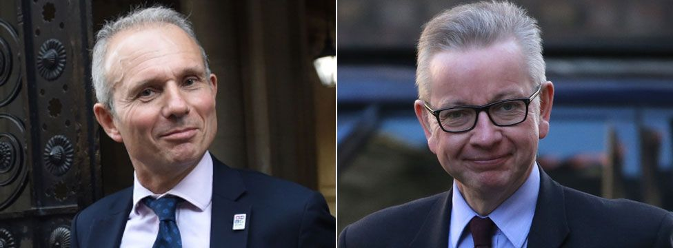 David Lidington and Michael Gove