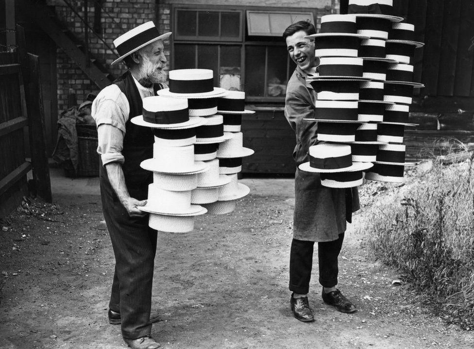 Hat making in Luton