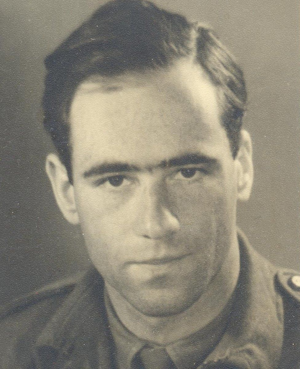 Fritz Lustig during World War Two