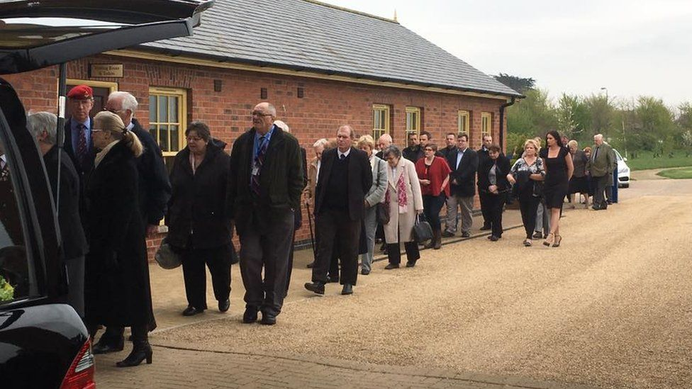 Funeral of Robert Neale in Lincolnshire