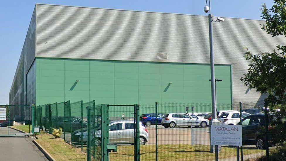 Matalan warehouse