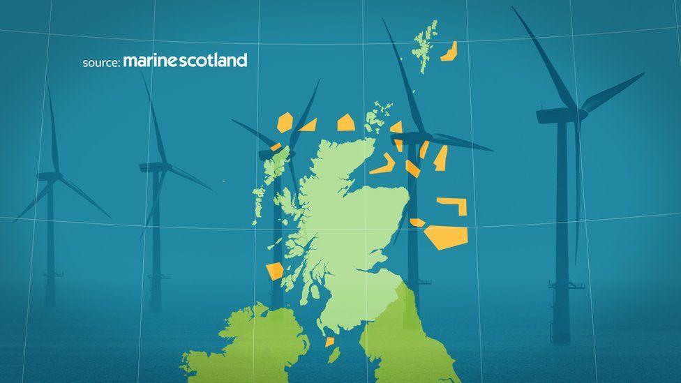 Wind farm map