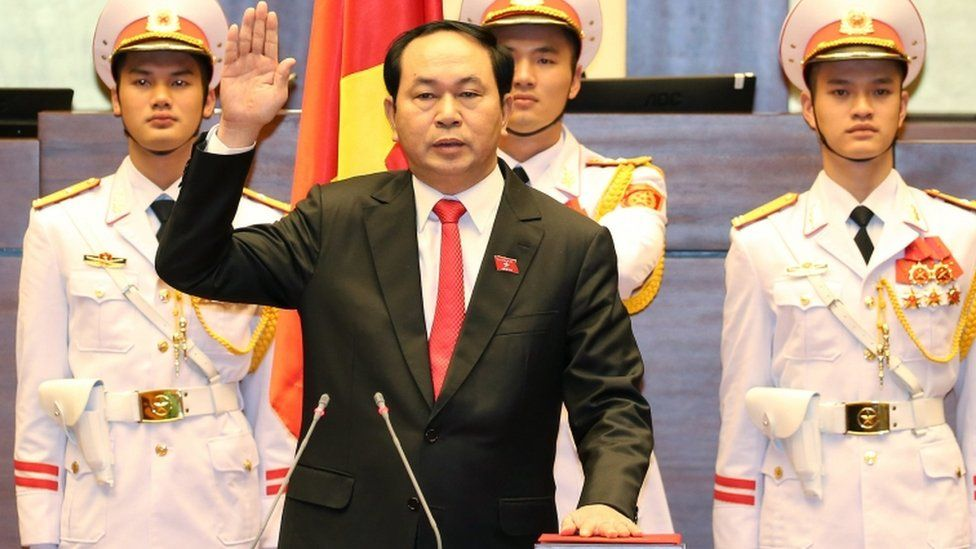 Tran Dai Quang is sworn in, 2 Apr